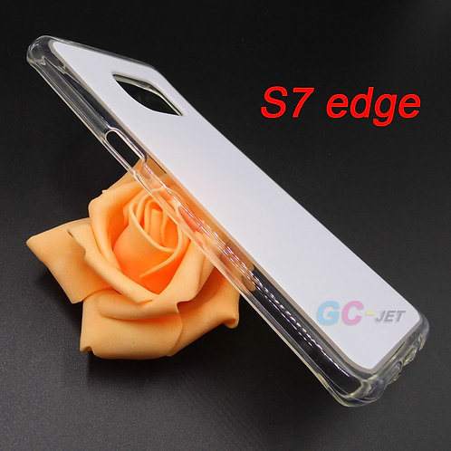 Galaxy S7 edge tpu phone case for printing by eco solvent printer uv printers