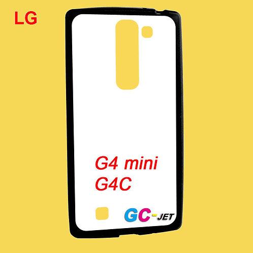 LG G4 mini / G4C blank tpu soft phone case with white coating surface
