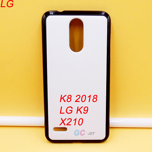 LG K8 2018 / K9 / X210 soft tpu phone case blanks printable white back