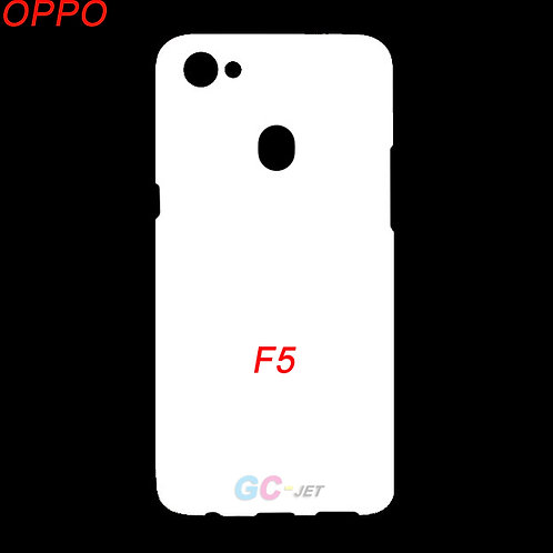 OPPO F5 printable mobile cover case for printing machines