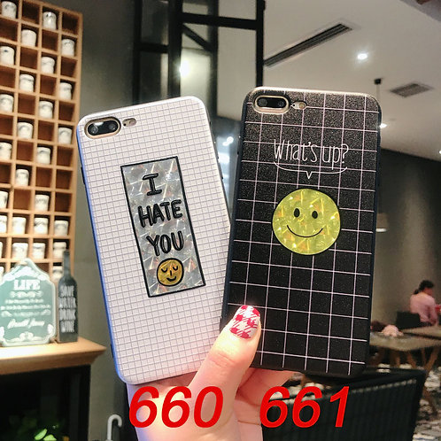 iPhone flash pattern tpu case 660 661