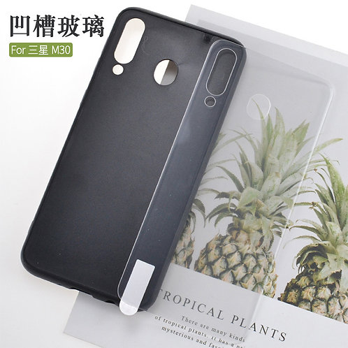 blank printable tempered glass mobile phone cases for Samsung galaxy M30