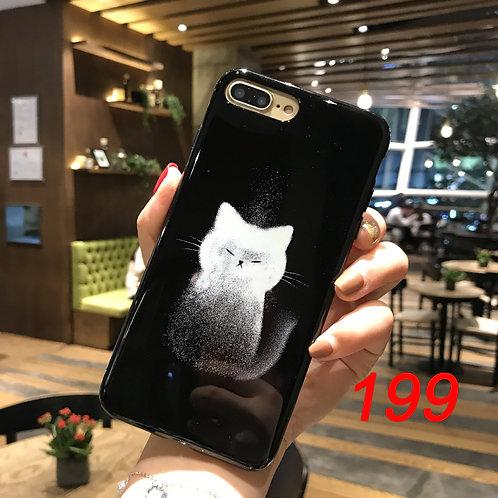 iPhone shimmering powder soft tpu case 199