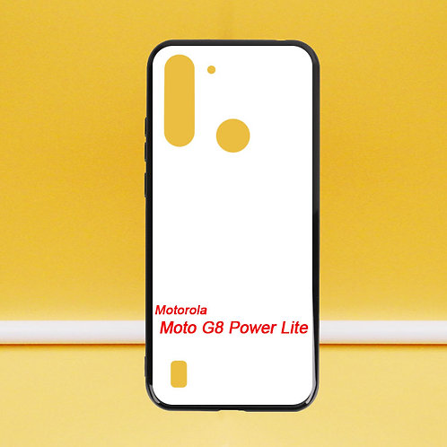 For Moto G8 Power Lite soft phone case with printable back