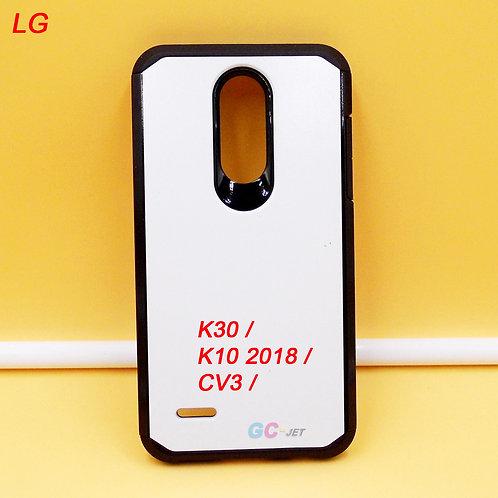 LG K30 / K10 2018 / CV3 blank slim armor case for printers to print