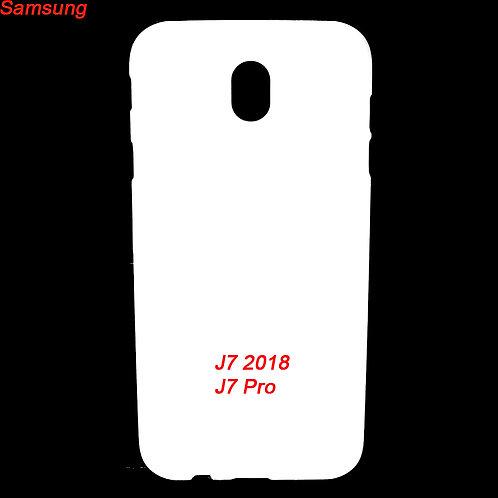 Samsung galaxy J7 2018 / J7 pro plastic mobile case for custom prinitng