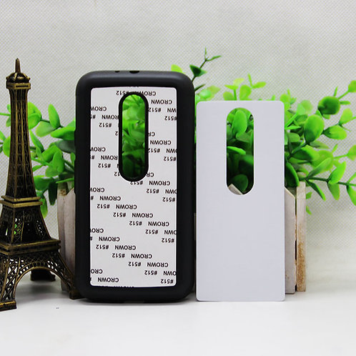 Moto G3 blank 3d sublimation tpu silicone soft phone case for picture heat trans