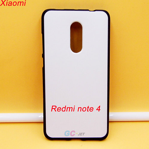 Redmi note 4 / 4X printable soft tpu phone case with white coated back