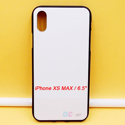 """iPhone XS MAX / 6.5""""blank printable flexible tpu case with white printable back"""