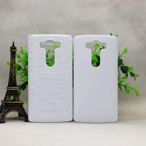 LG V10 blank 3d sublimation plastic white phone cover case
