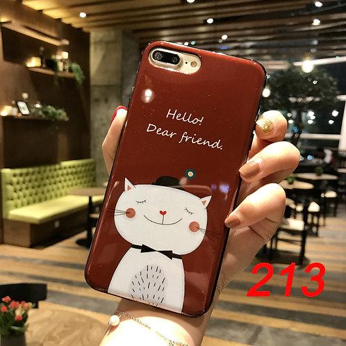 iPhone shimmering powder soft tpu case 213
