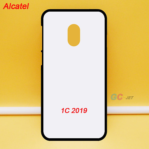 Alcatel 1C 2019 blank soft phone cover case for DIY printing image