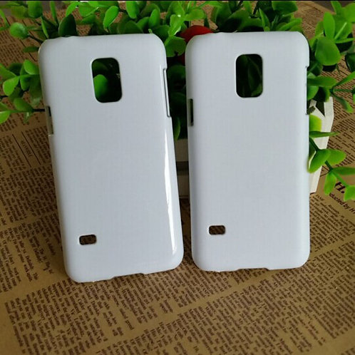 Samsung Galaxy S5 mini blank plastic white 3d sublimation phone cover case