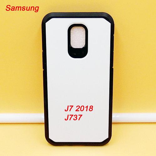 Samsung galaxy J7 2018 / J737 blank armor case for custom printing