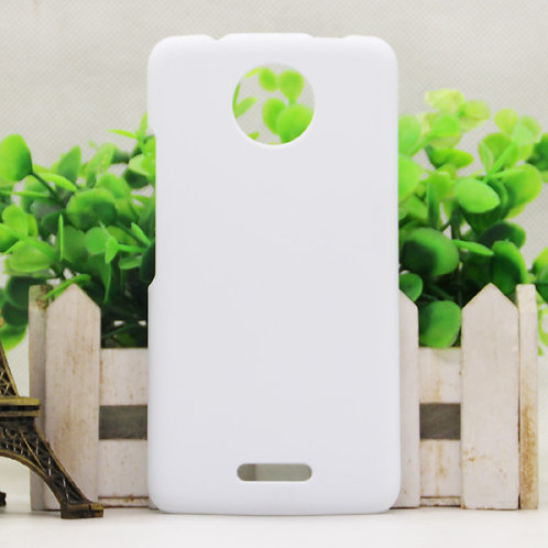 Moto C plus blank 3d sublimation cover case for photo transfer