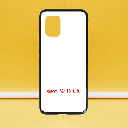 For Xiaomi Mi 10 Lite soft phone case with white printable back