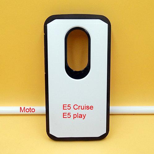 Moto E5 Cruise / E5 play slim armor mobile case for custom printing