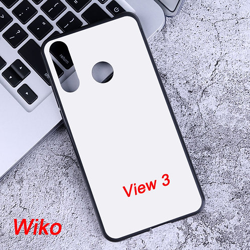 Wiko View 3 blank soft mobile phone case for uv printers eco solvent printers