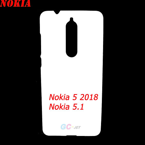 Nokia 5 2018 / Nokia 5.1 blank mobile cover for diy printing
