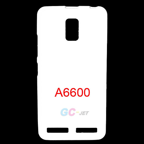 Lenovo A6600 blank phone cover cases for custom printing