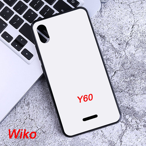 Wiko Y60 blank soft phone case for printing diy