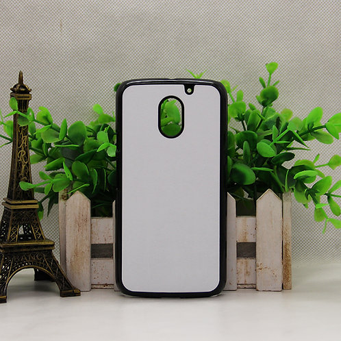 Moto E3 blank 3D sublimation phone case for heat transfer picture