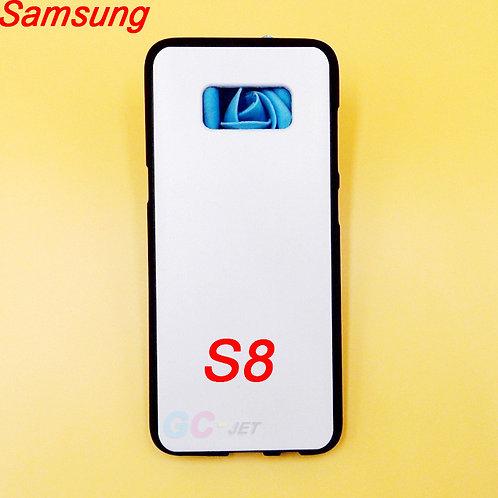 Galaxy S8 black tpu rubber soft phone case for eco solvent printer uv printer