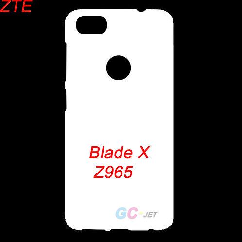 ZTE Blade X / Z965 white phone cover printable blanks