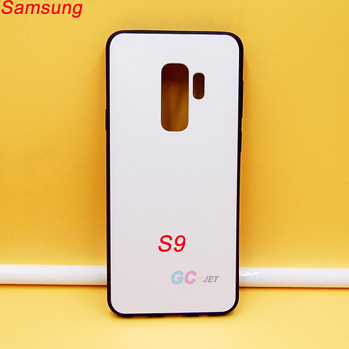 Samsung Galaxy S9 soft tpu phone case with white printable back