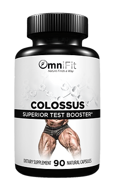 100% ALL Natural Powerful Testosterone Support - COLOSSUS