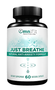100% ALL Natural Soothing Stress Support - JUST BREATHE - Extra Strengt