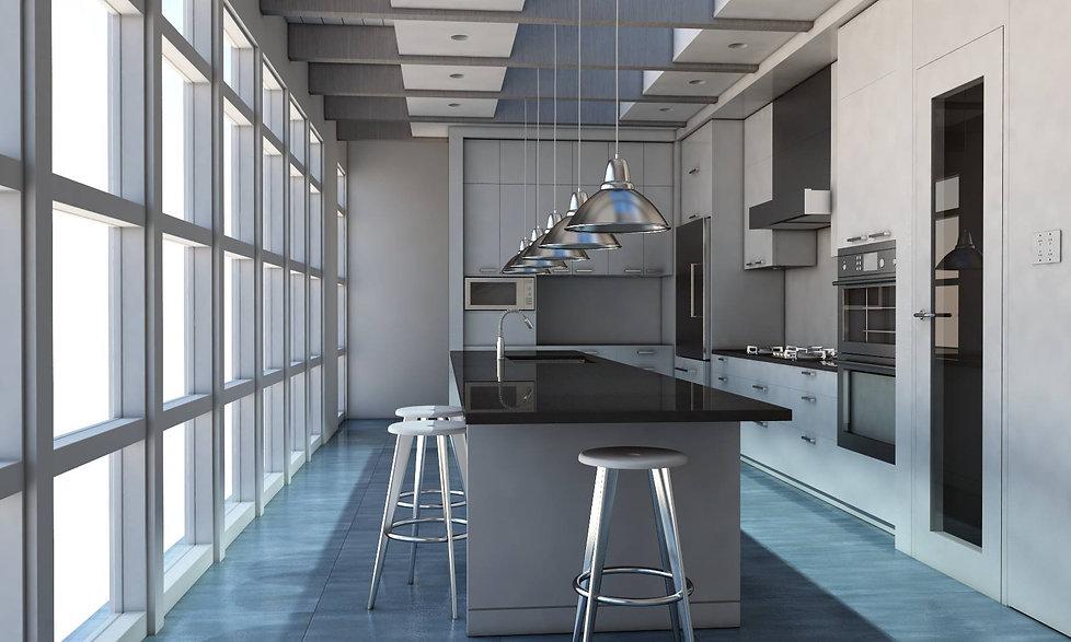 cucina per appartamento in città