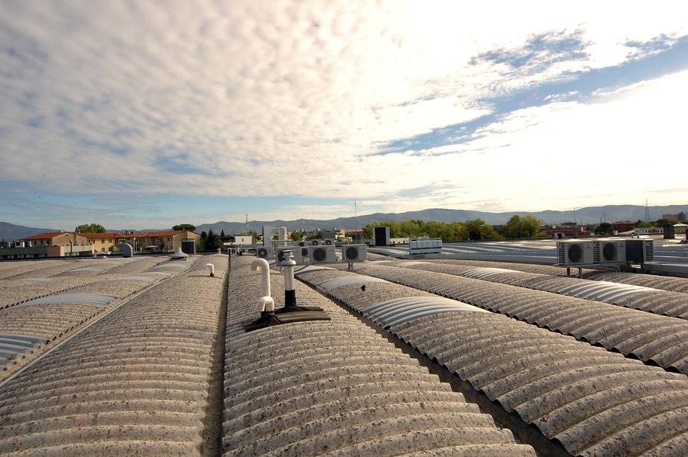Bonifica copertura amianto