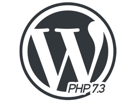 WordPress PHP 7.3 v2