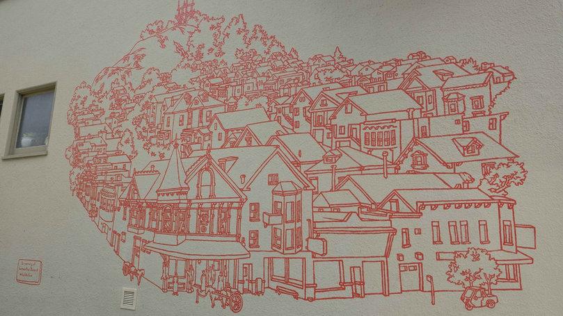 Pinhole Coffee Featured Art by Amos Goldbaum