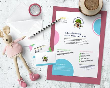 Tree of Life Child Care Center | JWHITE BRANDING
