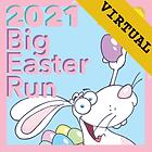 Virtual Big Easter Run logo 2021