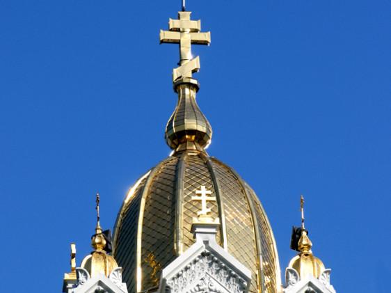 """Желязната църква """"Св. Стефан"""""""