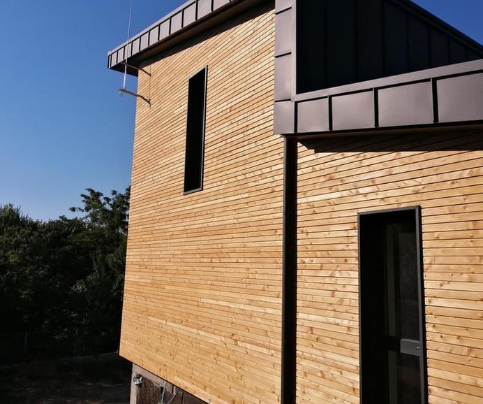 Вентилиран покрив от пластифицирана ламарина