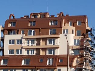 Покриви от ламарина на жилищни сгради