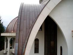 Елементи меден покрив църква
