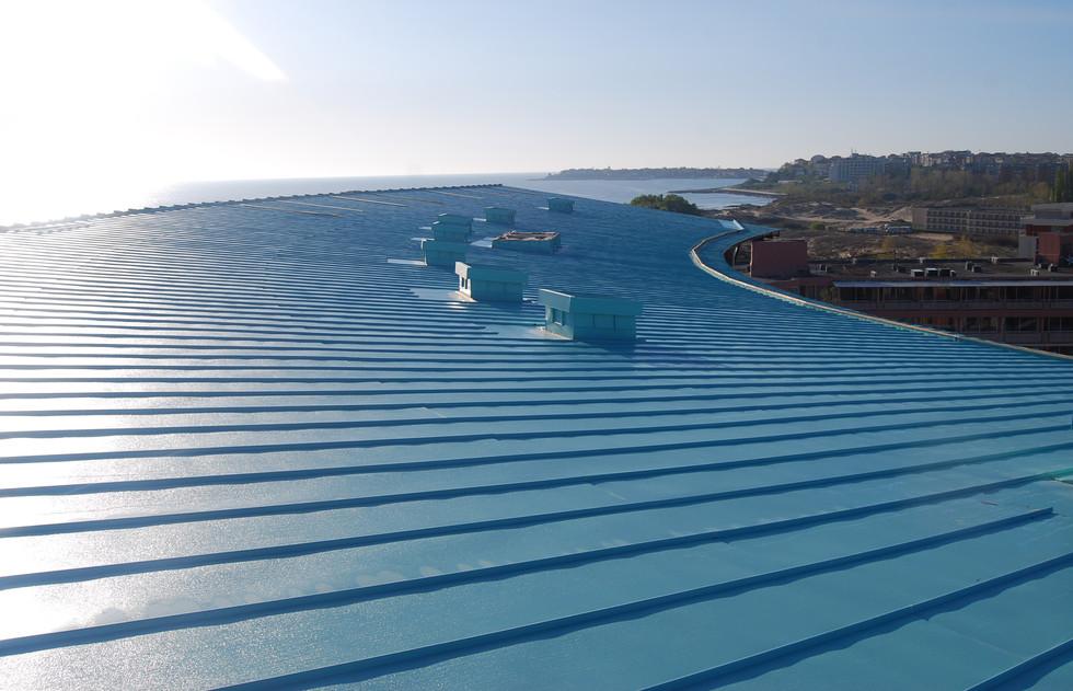 Покриви от ламарина с полиестерно покритие