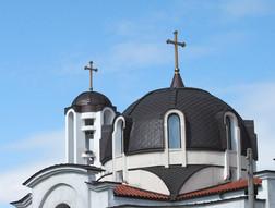 Медни куполи на църкви
