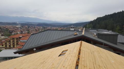 Покрив от титан цинк RHEINZINK
