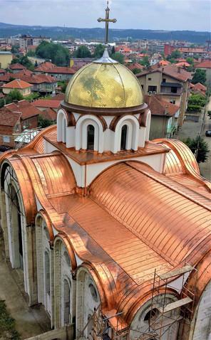 Църква с меден покрив