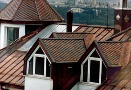 Елементи покрив от мед