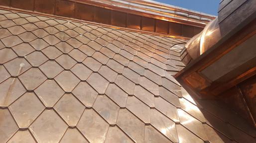 Елементи меден покрив