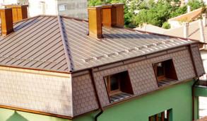 Меден покрив винкел фалц система