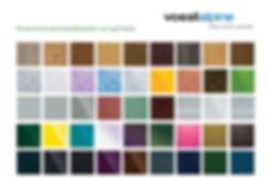 Ламарина с полиестерно покритие цветове