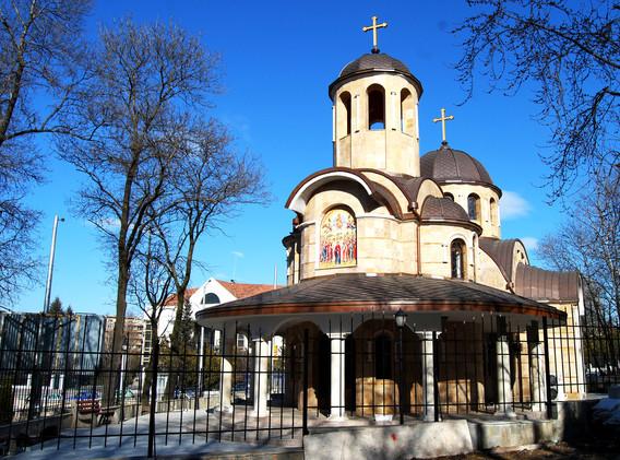"""храм """"Възнесение Господне"""" гр. София"""